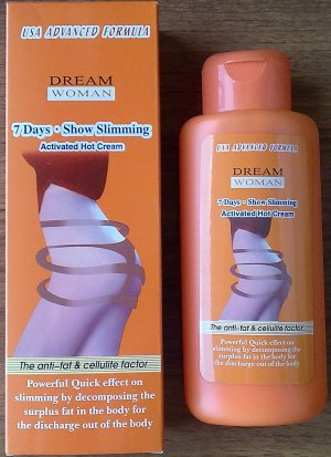1 box Dream Woman 7 days Activated Hot Slimming Cream, 200ml