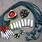 BOSCH Wires Plugs, 2 Caps Rotors 90-95 Mercedes 400 500