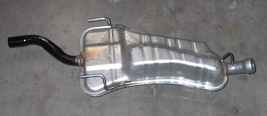 Rear Exhaust Muffler 1995 - 1998 SAAB 900 Turbo 215831
