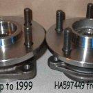 2 Front Hub Bearings Wrangler 513084 Cherokee NEW