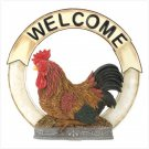 12554 Rooster welcome sign