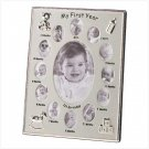 39783 My first year baby picture frame