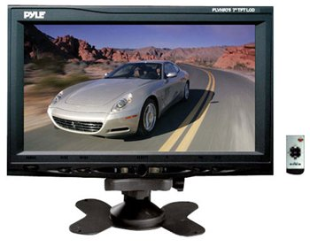"PYLE PLVHR75 7"" TFT WIDE SCREEN HEADREST MONITOR"