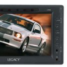 """LEGACY L7HM 7"""" TFT-LCD HEADREST MONITOR WITH HEADREST SHROUD & UNIVERSAL STAND"""
