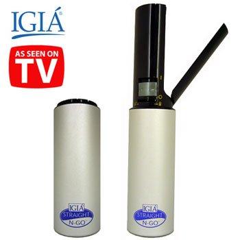 IGIA® PORTABLE/CORDLESS HAIR STRAIGHTENER (Model: AT-7351)