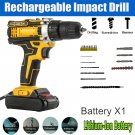 21V Electric Drill Cordless Electric Screwdriver Drill Set 30pcs with Battery