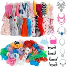 42pcs Doll Clothes Set Fashion Accessories for 11-12 Inch Girl Party New Outfits