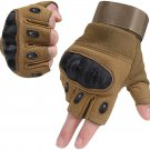 Tactical Army Military Gloves Rubber Hard Knuckle