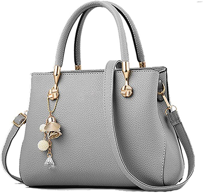 Leather Top Handle Satchel Shoulder Tote Bags