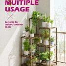 Plant Stands Indoor Outdoor Corner Plant Shelves Indoor Plant Holder for Living 7-Tier Corner Stands