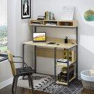 Computer Desk 42 Inch Small Desk for Small Spaces, School Student Desk Study Writing Desk