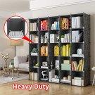 """Portable Storage Cubes-14"""" x14""""(Load-Bearing Metal Panel) Modular Bookshelf"""