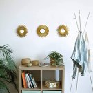 Gold Mirrors for Wall Pack of 3   Wall Mirrors for Room Decor & Home Decor