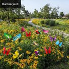 75 Pcs Butterfly Decoration Stakes Waterproof Garden Butterfly Ornaments for Indoor/Outdoor