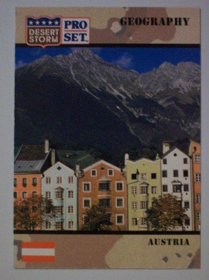 Desert Storm Collectible Card - Card #4 - Pro Set - Mint