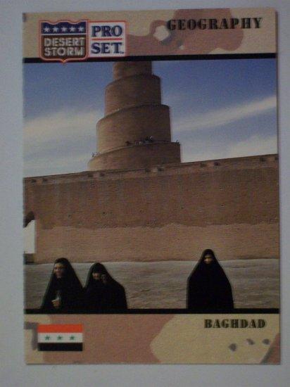 Desert Storm Collectible Card - Card #5 - Pro Set - Mint