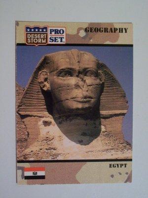 Desert Storm Collectible Card - Card #16 - Pro Set - Mint
