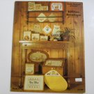 "Cross Stitch Leaflet -  Hollie Designs Presents ""Kitchen Kreations"" - 1982"
