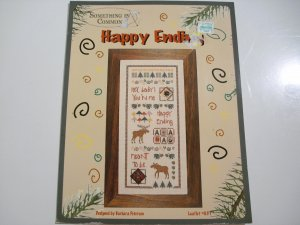 """Cross Stitch Leaflet - """"Happy Ending"""" - by Something In Common - 2001"""