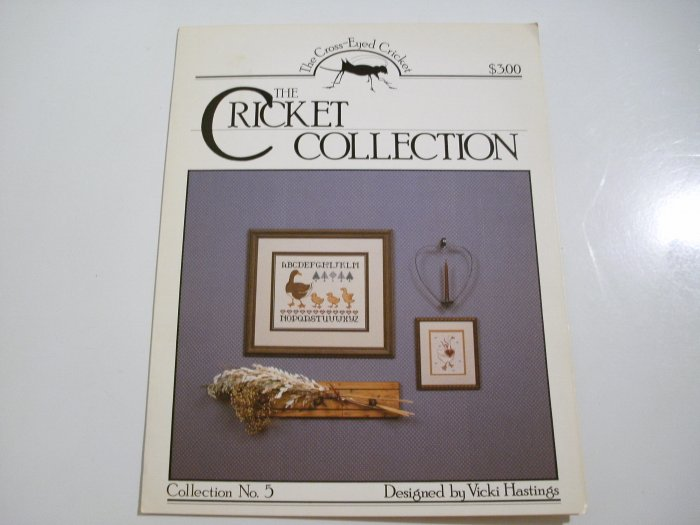 "Cross Stitch Leaflet - ""Geese"" - The Cricket Collection - 1983"
