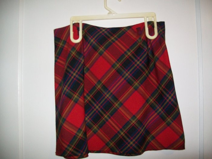Tracy Evans Limited - Plaid Skirt - Girls Size 11