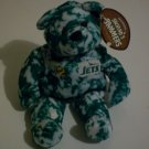 Official Licensed NFL Jets Bean Bear with tags