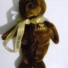 """Girl Scout """"I ♥ Camp"""" Camp Tanasi Brown Bear *RARE*"""