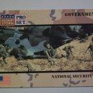 Desert Storm Collectible Card - Card #109 - Pro Set - Mint