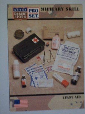 Desert Storm Collectible Card - Card #157 - Pro Set - Mint