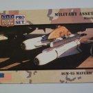 Desert Storm Collectible Card - Card # 218 - Pro Set - Mint
