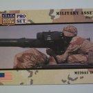 Desert Storm Collectible Card - Card # 219 - Pro Set - Mint
