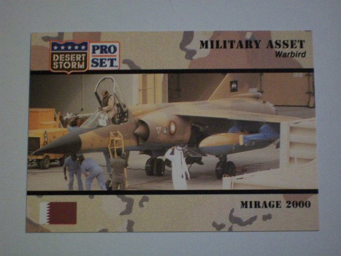 Desert Storm Collectible Card - Card # 229 - Pro Set - Mint