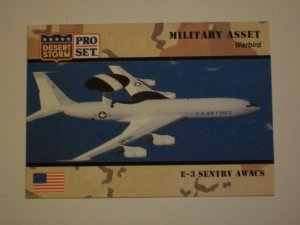 Desert Storm Collectible Trading Card - Card # 247 - Pro Set - Mint
