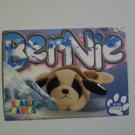 TY Beanie Baby Card #62 Bernie The St. Bernard - Style #4109