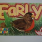 TY Beanie Baby Card # 83 Early the Robin - Style # 4190