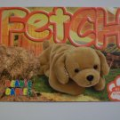 TY Beanie Baby Card # 85 Fetch the Golden Retriever - Style # 4189