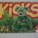 TY Beanie Baby Card # 99 Kicks the Soccer Bear - Style # 4229