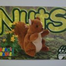 TY Beanie Baby Card # 111 Nuts the Squirrel - Style # 4114