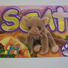 TY Beanie Baby Card # 127 Scat the Cat - Style # 4231
