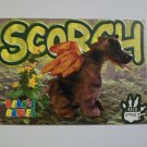 TY Beanie Baby Card #128 Scorch the Dragon - Style # 4210