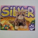 TY Beanie Baby Card # 131 Silver the Cat - Style # 4242