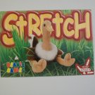 TY Beanie Baby Card # 143 Stretch the Ostrich - Style # 4182