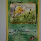 Koga's Weedle 40 HP - LV. 13 # 13