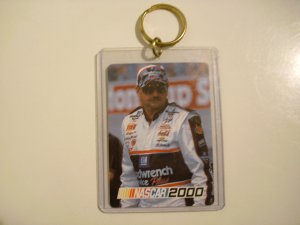 Dale Earnhardt Nascar 2000 Keychain