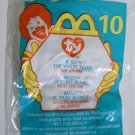 "McDonald's TY Beanie #10 ""Blizz The White Tiger"" 2000"