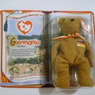 "McDonald's TY Beanie #6 ""Germania"" The Bear 2000"