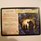 "Harry Potter ""Into The Forbidden Forest"" Trading Card 39/80"
