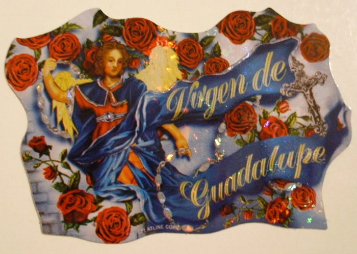 Virgen de Guadalupe Sticker