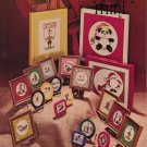 """""""Holiday Mini"""" By Jane Arlya Crabtree - Counted Cross Stitch Leaflet"""