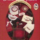"Howard Kaplan's French Country Store ""Les Gingham Christmas Bows"" Counted Cross Stitch Leaflet"
